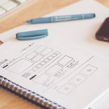 Exquisite Designs of Custom Wireframes for Mobile and Web Apps
