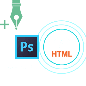 We Convert PSD to HTML